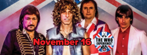The Who Experience® Tribute Band at The Cave @ The Cave | Big Bear Lake | California | United States